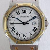 Cartier Santos Octagon LM