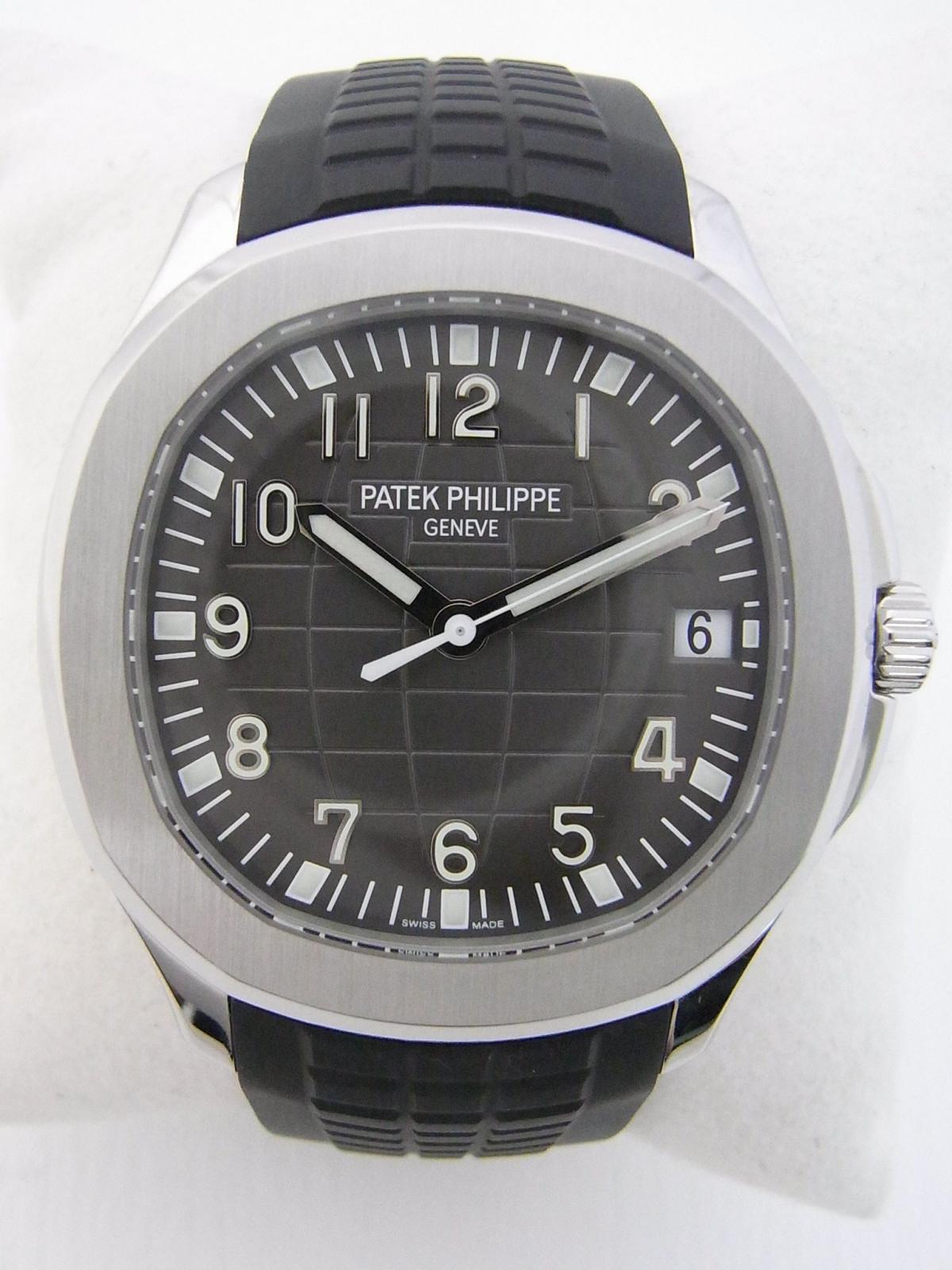 e8a9296e09d Patek Philippe Aquanaut Extra Large 5167A-001 relógio usados ...