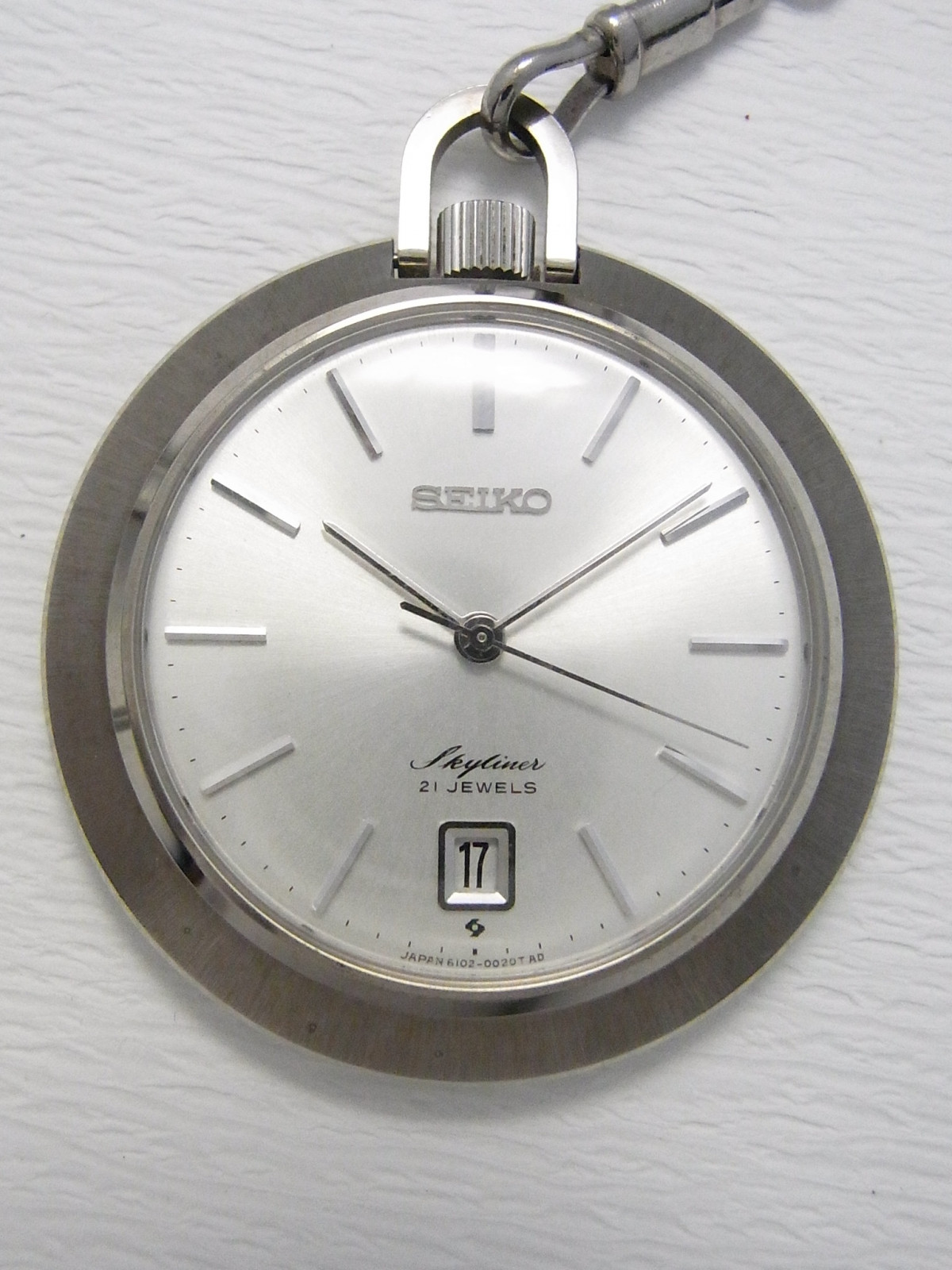 Pre-owned Seiko Pocket Watch 6102-0010 watch ($47) for sale - Timepeaks