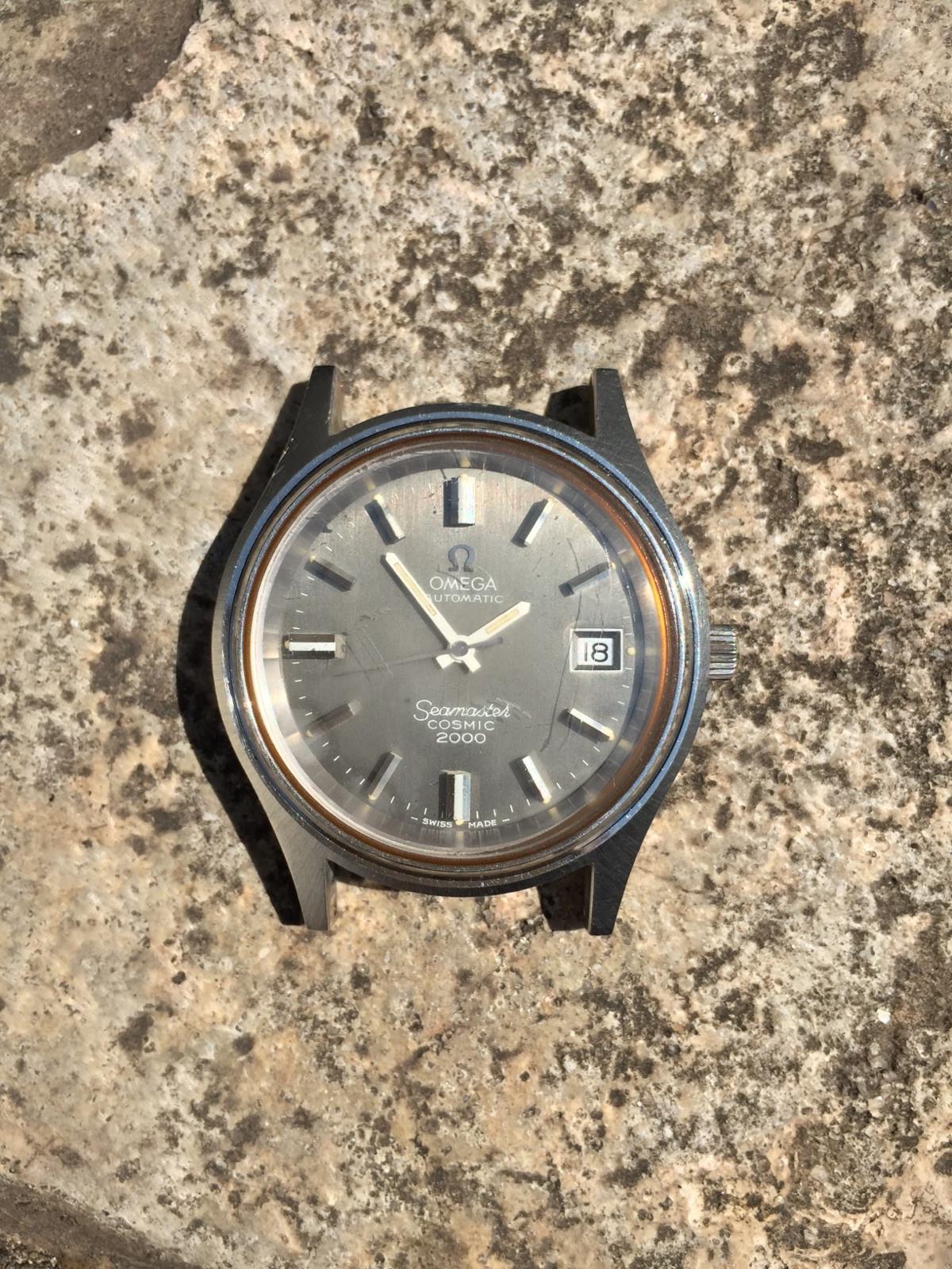 caf443df0f1 Omega Seamaster Cosmic 2000 Ref. 166.0128 relógio usados (€228 ...
