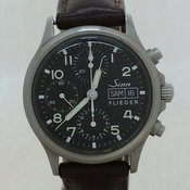 Sinn Automatic volume / analog / leather / FLIGER Ref.356