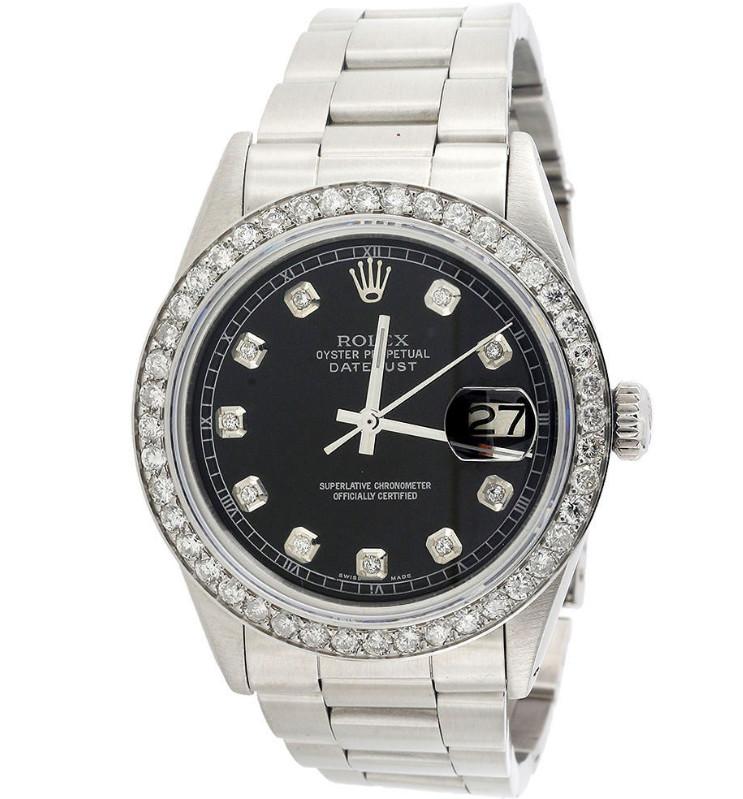 Pre-owned Rolex Datejust non-quick set