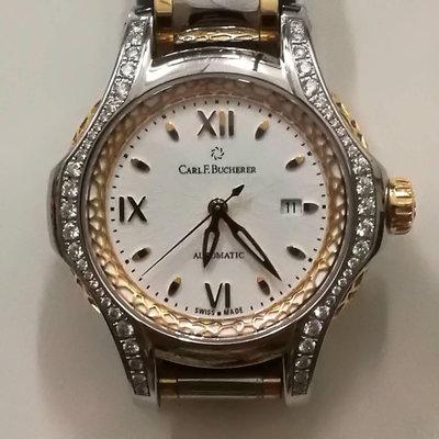 19dcf6e3bbb Carl F.Bucherer Carl F.Bocherer pathos diva 00.10580.07.25.31.01 relógio  usados (€5