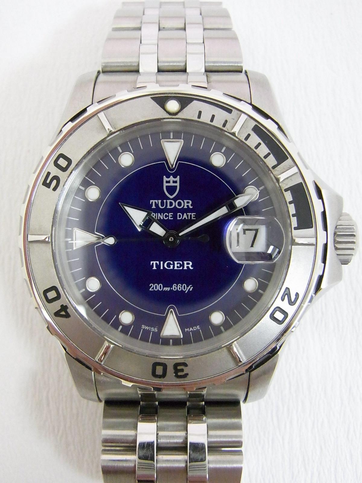 d3768d1e55f Tudor Prince date Hydro Notes 89190 relógio usados (€236) - Timepeaks