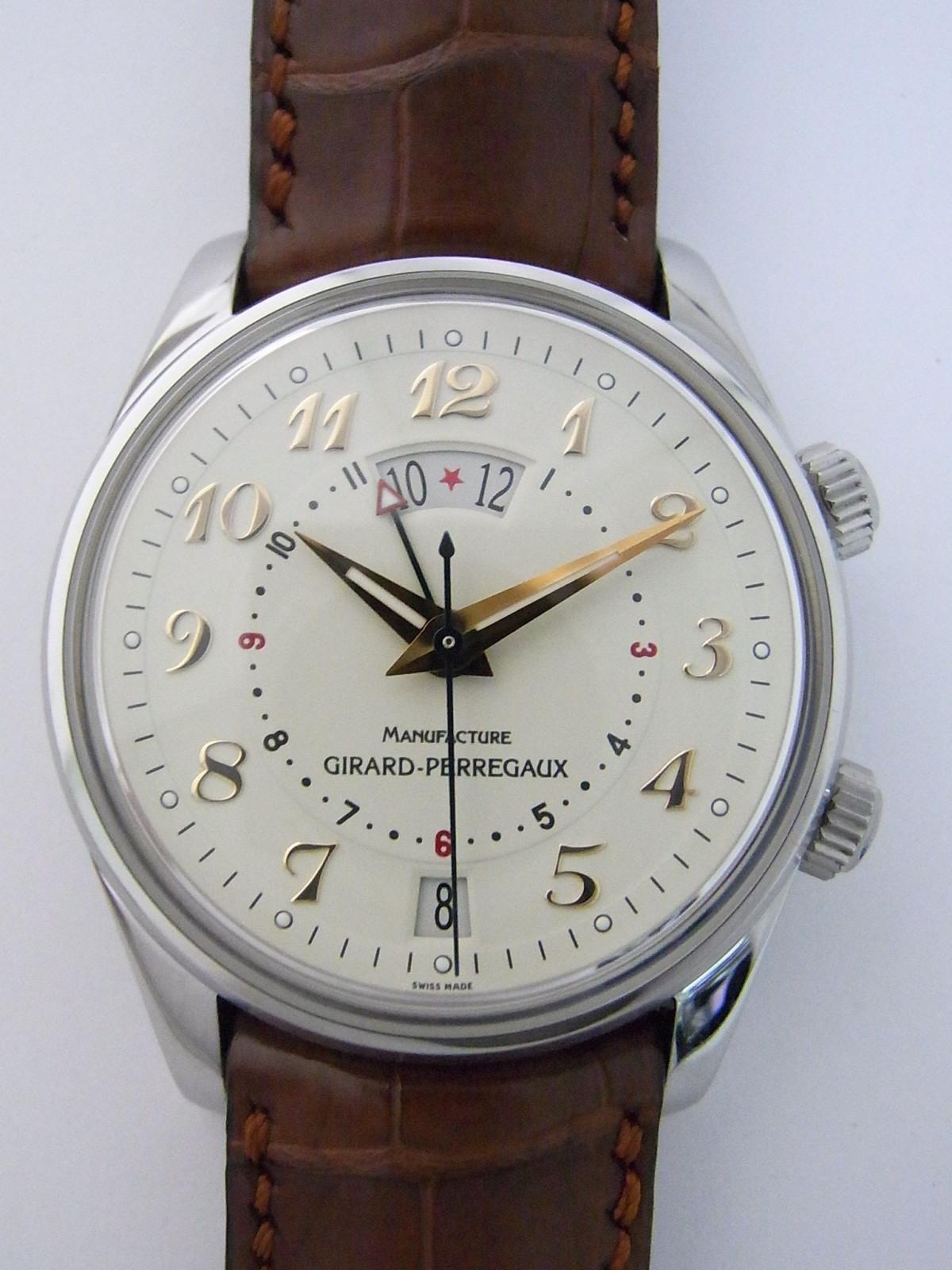808832122d8 Girard Perregaux Traveller 2 4940 relógio usados (€1