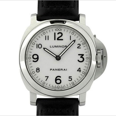 Panerai Luminor base J # 2007 · Box · warranty (with domestic regular item) attached PAM00114