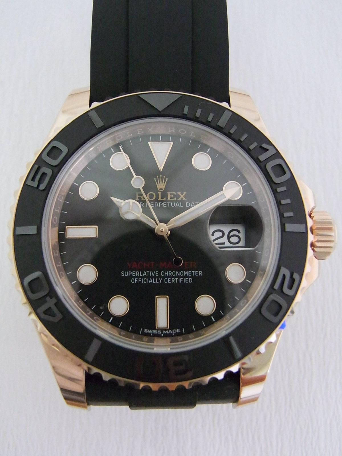 e43c4375763 Rolex Yacht master 116655 relógio usados (€4
