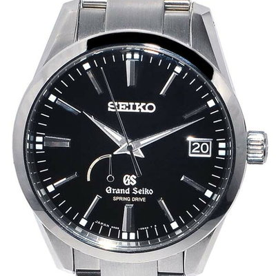Grand Seiko Polished! GS Spring drive Automatic power reserve ★ Ref.SBGA101