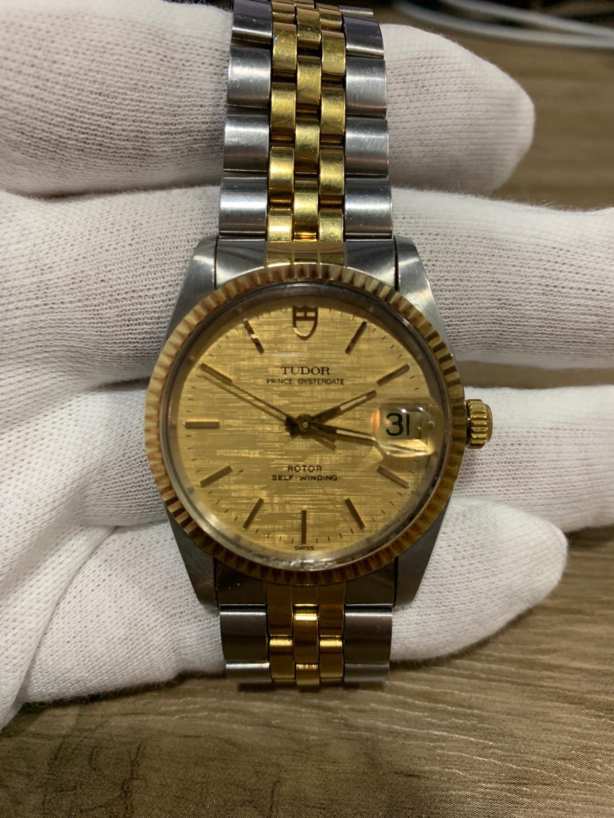 37d46470a8b Tudor Prince date 74033 relógio usados (€1