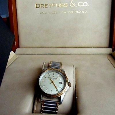 Beautiful Dreyfuss & Co Swiss Handmade watch