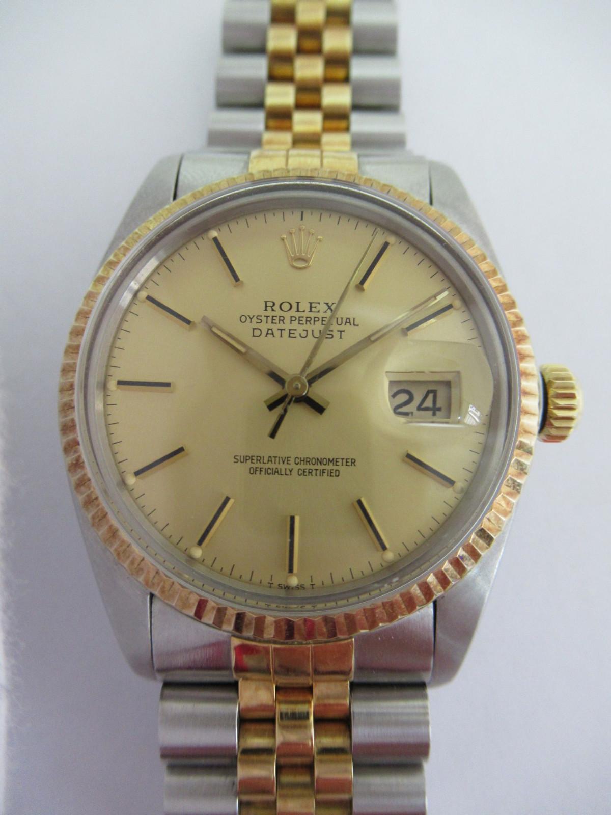 best aardig Britse winkel specifiek aanbod Gebruikt Rolex Datejust 16013 horloge (€1,657) te koop ...
