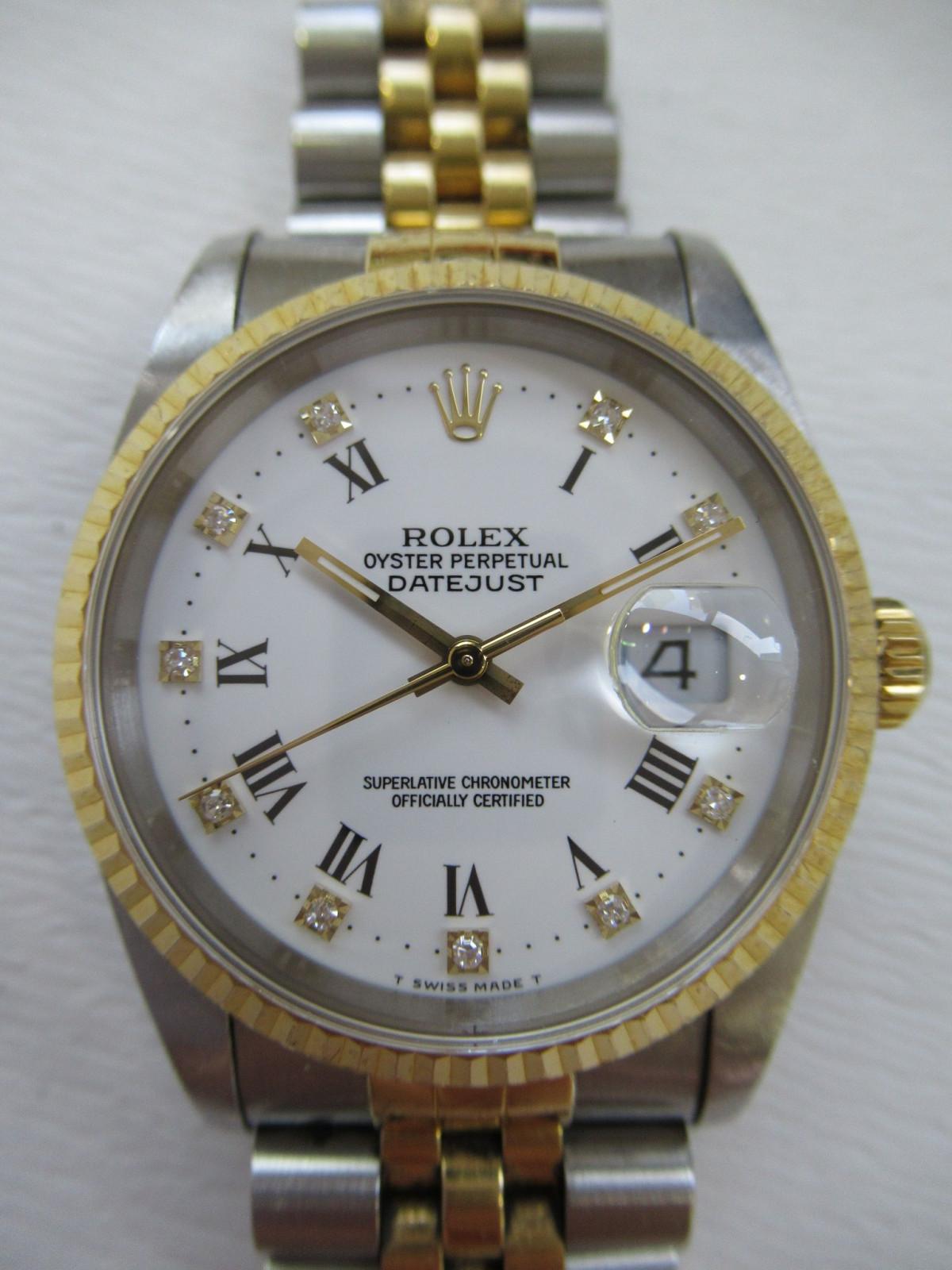 beste sneakers nieuwe specials detaillering Gebruikt Rolex Datejust 16233G horloge (€1,232) te koop ...