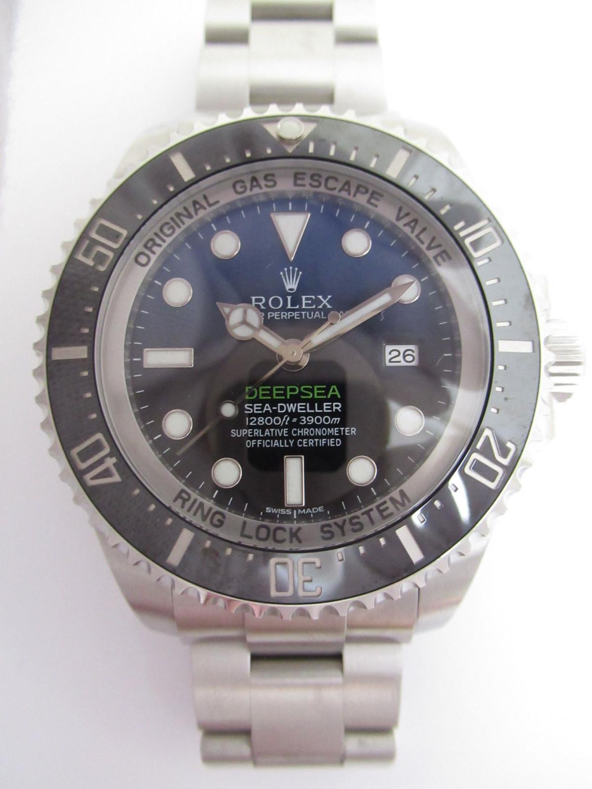 d48c4b6618e Usato Rolex Sea dweller Deep Sea d Blue 116660 Orologi (€4