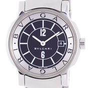 new style 5f839 ef2ad Pre-owned Bvlgari Solotempo watches for sale - Buy luxury ...